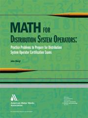 Cover of: Math for  Distribution System Operators | John Giorgi