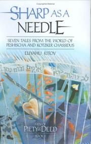 Cover of: Sharp as a Needle