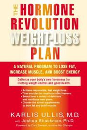 Cover of: The hormone revolution weight-loss plan