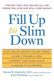 Cover of: Fill Up to Slim Down | E.  Diethrich