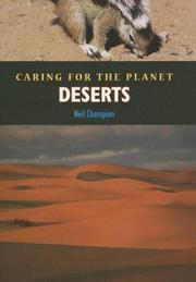 Cover of: Deserts | Neil Champion