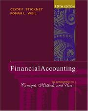 Cover of: Financial Accounting | Clyde P. Stickney, Roman L. Weil