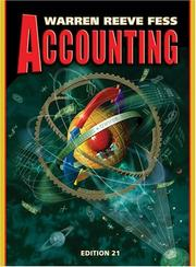 Cover of: Accounting (Accounting / Carl S. Warren) | Carl S. Warren, James M. Reeve, Philip E. Fess