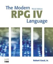 Cover of: The Modern RPG IV Language
