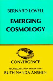Cover of: Emerging Cosmology (Convergence)