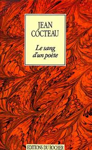 Cover of: Le sang d'un poète: film.  Photos. de Sacha Masour.