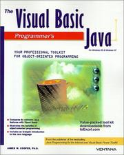 Cover of: The Visual Basic Programmer's Guide to Java