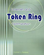 Cover of: Ethernet and Token Ring optimization