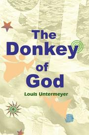 Cover of: The donkey of God