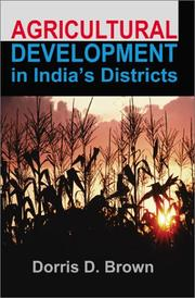 Cover of: Agricultural Development in India