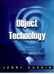 Cover of: Object Technology | Jerry Cashin