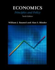 Cover of: Economics (with InfoTrac ): Principles And Policy