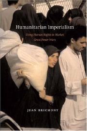 Cover of: Humanitarian Imperialism