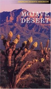 Cover of: Mojave Desert