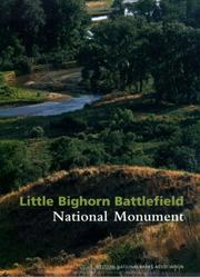 Cover of: Little Bighorn Battlefield National Monument | Mark L. Gardner