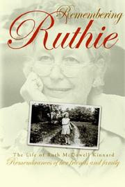 Cover of: Remembering Ruthie | Judith Kinnard Cabot