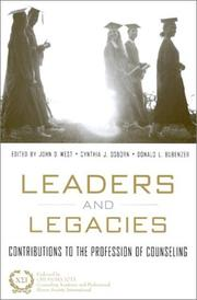 Cover of: Leaders and Legacies | John West