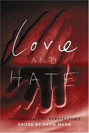 Cover of: Love and hate |