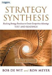 Cover of: Strategy Synthesis | Bob de Wit