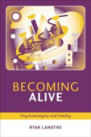 Cover of: Being alive
