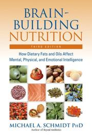 Cover of: Brain-Building Nutrition