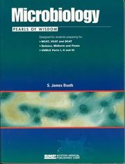 Cover of: Microbiology, Pearls of Wisdom (Pearls of Wisdom (Boston Medical Publishing)) | S. James Booth