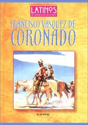 Cover of: Francisco Vasquez de Coronado | Jim Whiting