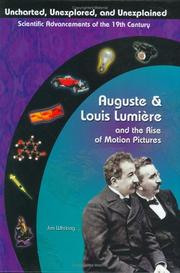 Cover of: Auguste & Louis Lumiere