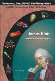 Cover of: James Watt and the steam engine by Jim Whiting