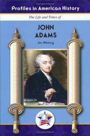 Cover of: John Adams (Profiles in American History) (Profiles in American History)