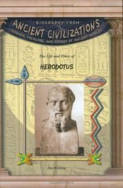 Cover of: Herodotus (Biography from Ancient Civilizations) (Biography from Ancient Civilizations)