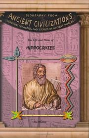 Cover of: Hippocrates (Biography from Ancient Civilizations) (Biography from Ancient Civilizations)
