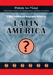 Cover of: A Brief Political and Geographic History of Latin America
