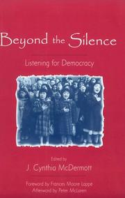 Cover of: Beyond the Silence: Listening for Democracy