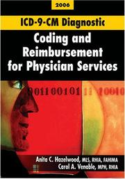 Cover of: ICD-9-CM Diagnostic Coding and Reimbursement for Physician Services, 2006 Edition, with Answers | Anita C. Hazelwood