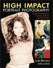 Cover of: High Impact Portrait Photography | Lori Brystan