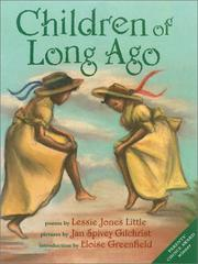 Cover of: Children of long ago