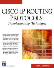 Cover of: Cisco IP Routing Protocols | V Anand