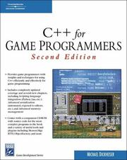 Cover of: C++ For Game Programmers (Game Development Series) | Mike Dickheiser