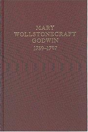 Cover of: Mary Wollstonecraft Godwin, 1759-1797