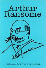 Cover of: Arthur Ransome