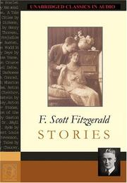Cover of: F. Scott Fitzgerald Stories