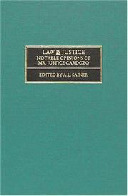 Cover of: Law is justice