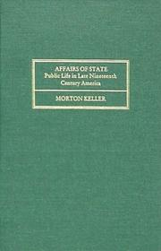 Cover of: Affairs of State | Morton Keller