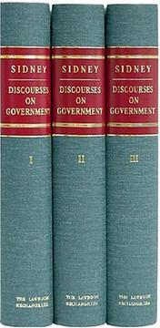 Cover of: Discourses on government