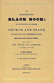 The extraordinary black book by John Wade