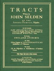 Cover of: Tracts