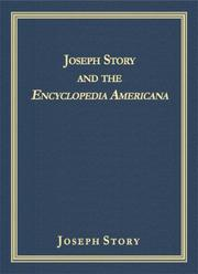 Cover of: Joseph Story and the Encyclopedia Americana
