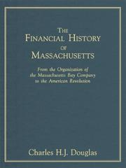 Cover of: The financial history of Massachusetts