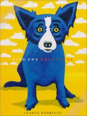 Cover of: Blue Dog Note Cards | George Rodrigue